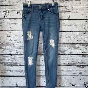 Cat & Jack Super Skinny Jeans with Lace Patches